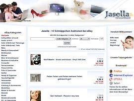 1 Euro Schnäppchen-Auktionen bei Jasella