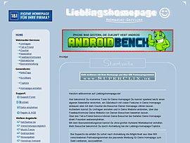 Webmaster-Service für deine Lieblingshomepage