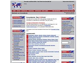 Suchservice - Konsulate in Deutschland und deutsche Vertretungen im Ausland
