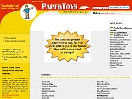 Papertoys: Bastelspaß für jung und alt
