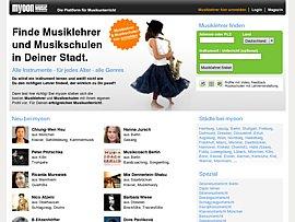 Musik-Portal für alle, die Musik machen oder lernen wollen
