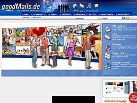 Goodmails.de - Kostenloser E-Mailservice, auch für bad Mails