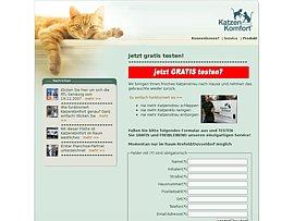 Das Katzenklo einmal gratis vom Fachmann reinigen lassen