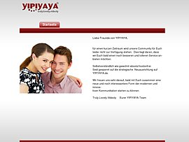 Yipiyaya - Multimediale Kontaktbörse per Video-Chat