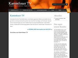 Kostenloses Kaminfeuer für den Fernseher