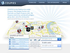 Gutscheine aufs Handy - Handy-App für Coupons