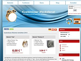 Kostenloser Wecker - Weckruf per Telefon