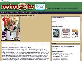 Alte Fernsehsendungen wecken Erinnerungen