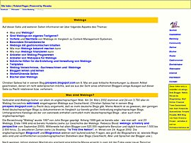 Voll im Trend: Weblogs, die neue Gratis-Homepage-Generation