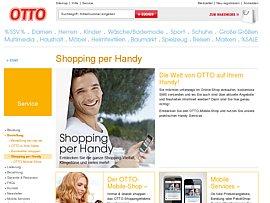 SMS: Neuer kostenloser SMS-Info-Dienst und zu Beginn eines jeden Monats 5555 Free-SMS.Pakete bei Otto