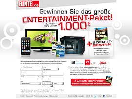 Entertainment Bundle gewinnen plus gratis Hörbuch