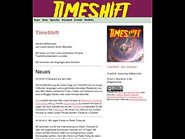 "Hörspiel - Science Fiction ""Timeshift"" zum kostenlosen Download"