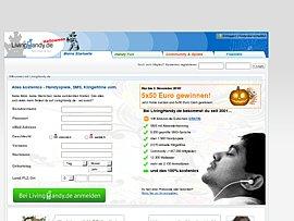 LivingHandy - Kostenloser SMS-Versand mit oder ohne Anmeldung