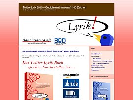 Twitter-Lyrik 2010 - Zweiter Band als Ebook zum kostenlosen Download