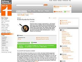 Massageauflage Test Stiftung Warentest