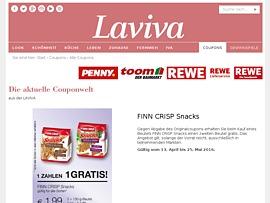 Laviva - Frauenmagazin lockt mit neuen Gutscheinen