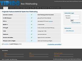 Kostenloses Webhosting