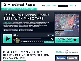Mercedes Mixed Tape 40 zum kostenlosen Download - &quot;Anniversary Bliss&quot;