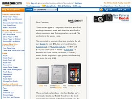 Amazon Kindle Fire sagt Apple iPad den Kampf an