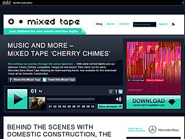 Cherry Chimes - Neues Mercedes Benz Mixed Tape zum kostenlosen Download