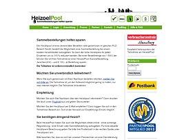 Heizölpool: Sammelbestellungen von Heizöl für den Winter - Gemeinsam gehts günstiger!