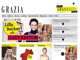 Lifestyle-Magazin Grazia 12 Wochen kostenlos und selbstk&uuml;ndigend f&uuml;r Facebook-Fans
