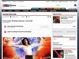 "Michael Jacksons Album ""Immortal"" kostenlos hören"