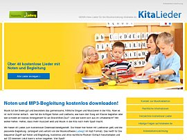Kinderlieder - Noten, Liedtexte und musikalische Begleitung zum kostenlosen Download