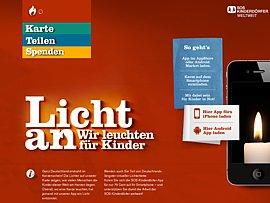 Licht an für die SOS-Kinderdörfer!