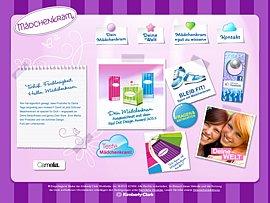 Camelia Mädchenkram-Testpaket kostenlos bestellen
