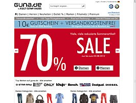Fashion Online-Shop Guna.de