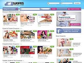 Loupus - Mit Coupons und Rabatten Geld sparen