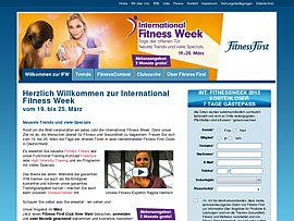 Fitness First eine Woche kostenlos testen