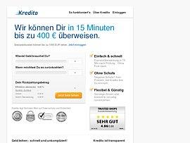 Kredito.de - Schnell und unkompliziert einen kleinen Kredit aufnehmen