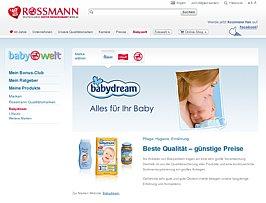Rossmann verteilt auf Facebook Coupons für eine kostenlose Babydream CD