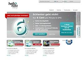 helloMobil - Für 6 Cent telefonieren und simsen