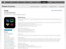 TV Guide fürs iPad - App zum kostenlosen Download