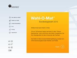 Bundestagswahl 2013: Der Wahl-O-Mat hilft Euch bei der Wahl