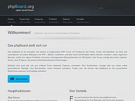 phpBoard - Freies PHP Forum