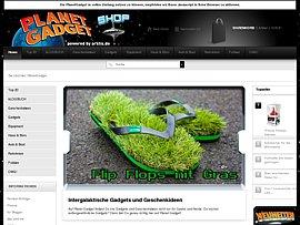 Flip oder Flop - Grasgrüne Flip Flops mit Sommerfeeling