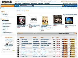 Amazon spendiert massenweise MP3 zum kostenlosen Download
