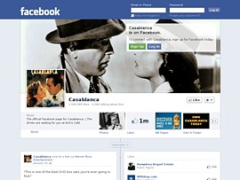 &quot;Casablanca&quot; kostenlos auf Facebook - Legend&auml;rer Film feiert 70. Geburtstag