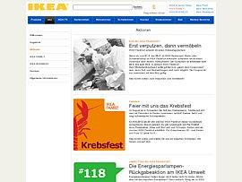 Ikea Frankfurt teilt Gutscheine aus: Erst Verputzen, dann Vermöbeln!