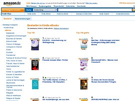 Amazon Kindle E-Books gratis