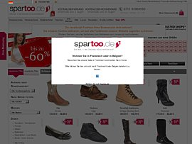 Spartoo - Schuhe und Taschen um bis zu 60 Prozent reduziert