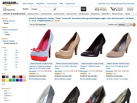 Amazon startet SSV - High Heels und andere Pumps