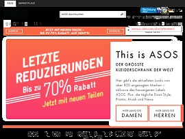 Asos.com - Online-Fashion- und Beauty-Shop mit ausgefallener Mode zum kleinen Preis