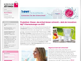 Produkttester f&uuml;r Wasserfilter gesucht 
