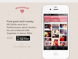 Stuffle - Per kostenloser App Sachen verkaufen und Geld verdienen