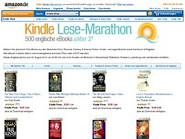 Amazon - 500 Ebooks für Kindle unter 2 Euro